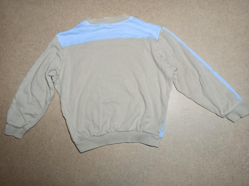 Children/'s blue beige raglan with mouse print. 90s Vintage children/'s raglan for a boy 3-4 years old