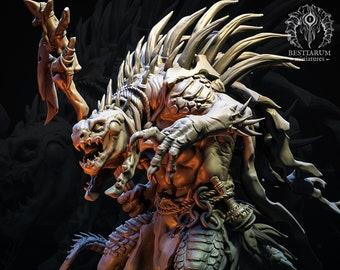 Shaman (Pose 1)   THE SEKHATON TRIBE   Bestiarum Miniatures   Dungeons and Dragons   Pathfinder   Painting