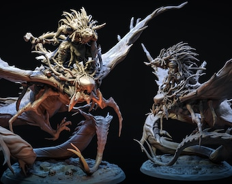Shaman on Stingray   THE SEKHATON TRIBE   Bestiarum Miniatures   Dungeons and Dragons   Pathfinder   Painting