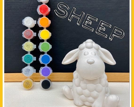 Sheep Acrylic Painting Kit