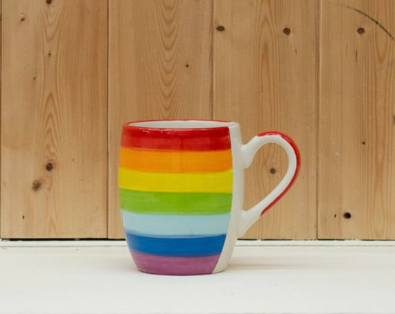 Rainbow Barrel Mug