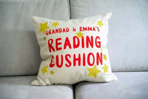 Grandad and .......'s Reading Cushion
