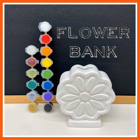 Flower Money Bank Acrylic Painting Kit