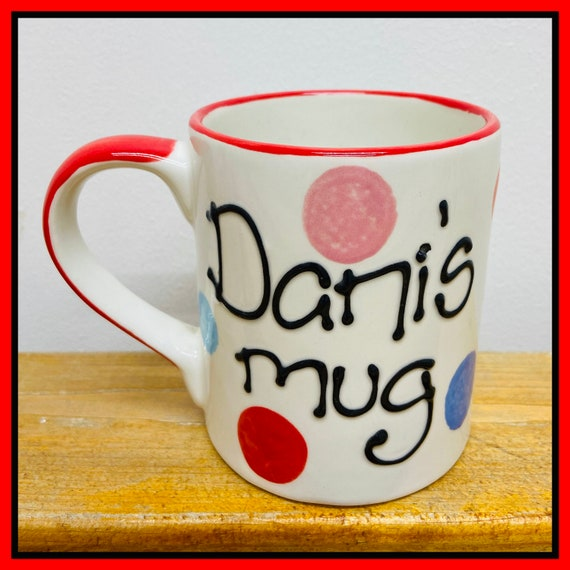 MULTICOLOUR Personalised Mug