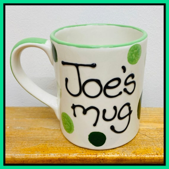 GREEN Personalised Mug