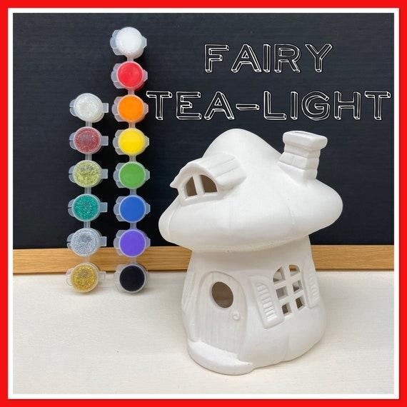 Fairy Mushroom Tea-light Acrylic Painting Kit