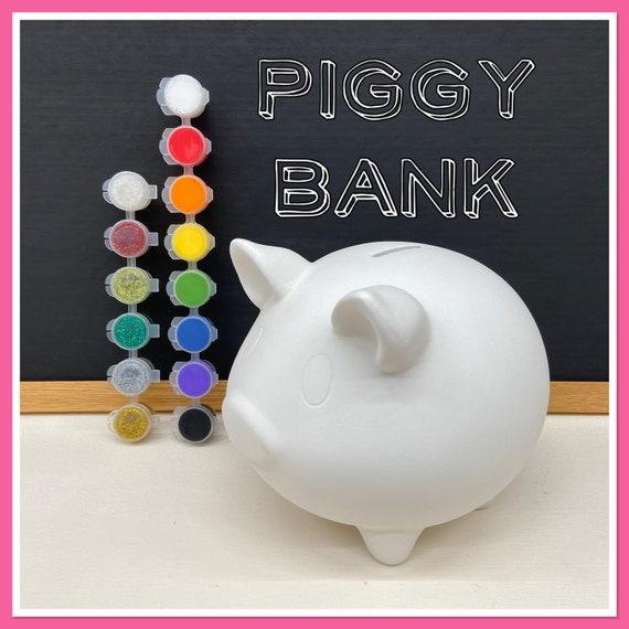 LARGE Piggy Bank Acrylic Painting Kit