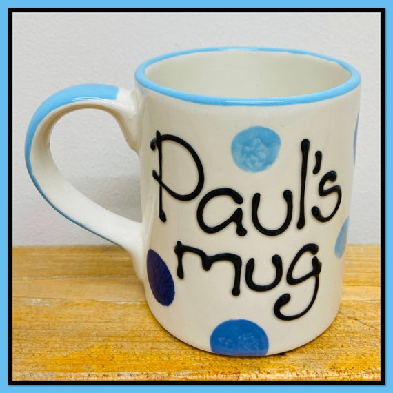 BLUE Personalised Mug