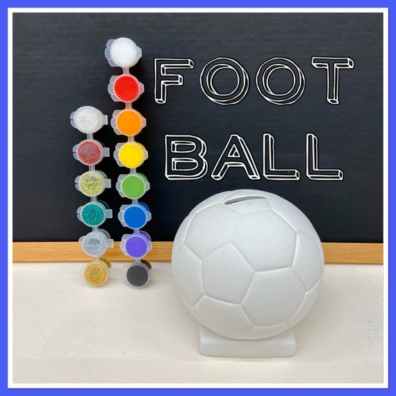 Football Money Bank Acrylic Painting Kit