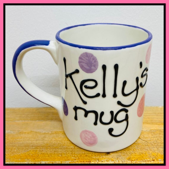 PINK & PURPLE Personalised Mug