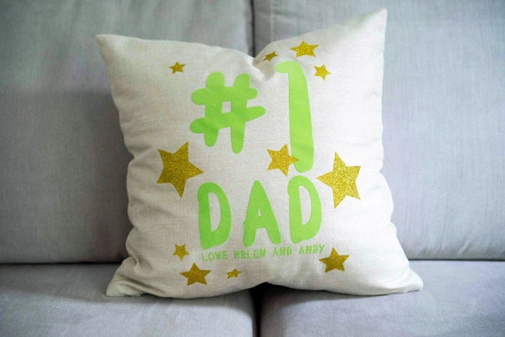 Number One Dad Cushion