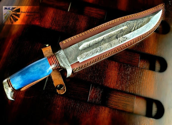 15\u201d Handmade Custom Damascus Blade