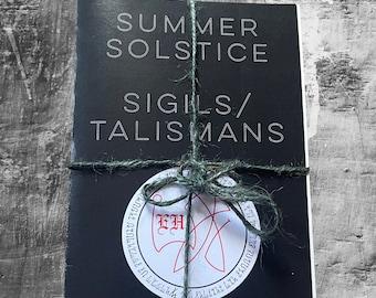 Summer Solstice Sigil Talisman Print Collection