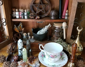 MYSTERY WITCHCRAFT KIT Wicca Altar Starter Kit Wiccan Pagan Witch Kit Witchcraft