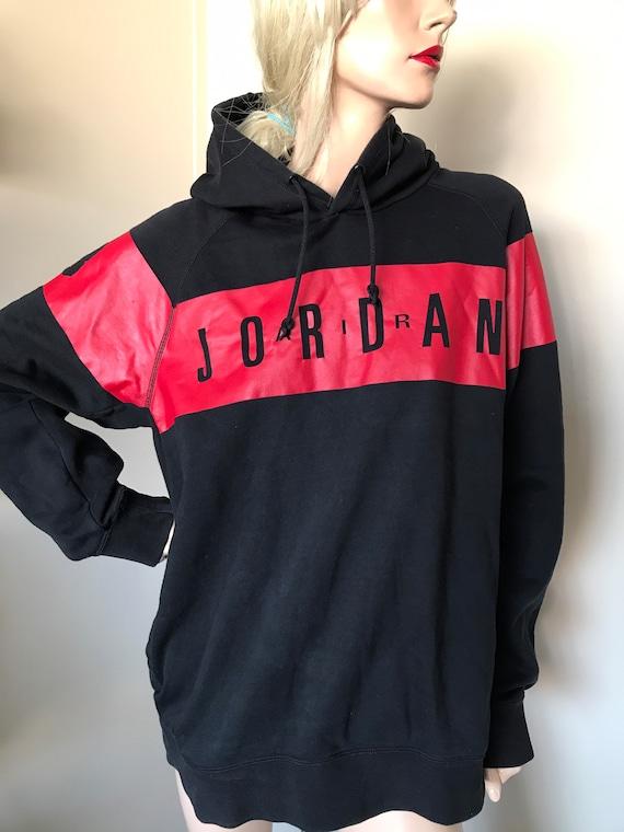 AIR JORDAN vintage XL pullover black hoodie