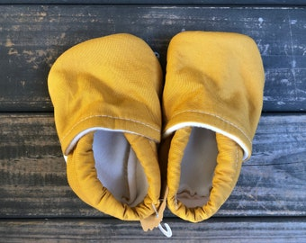 Sunshine Baby Shoes | Toddler Shoes | Mustard