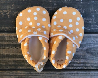 White Polkadots Baby Shoes | Toddler Shoes