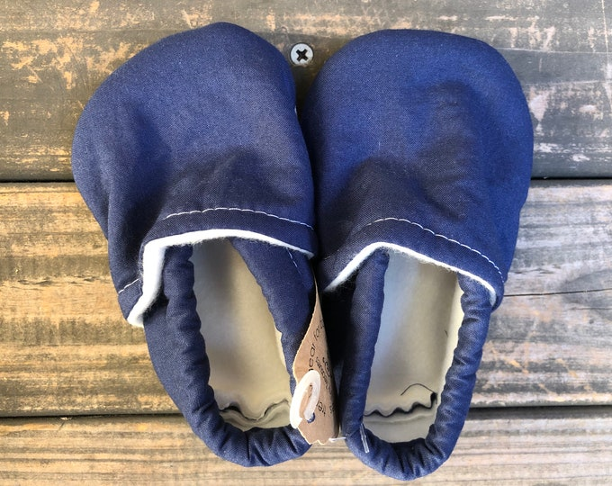 Navy Blue Baby Shoes | Toddler Shoes