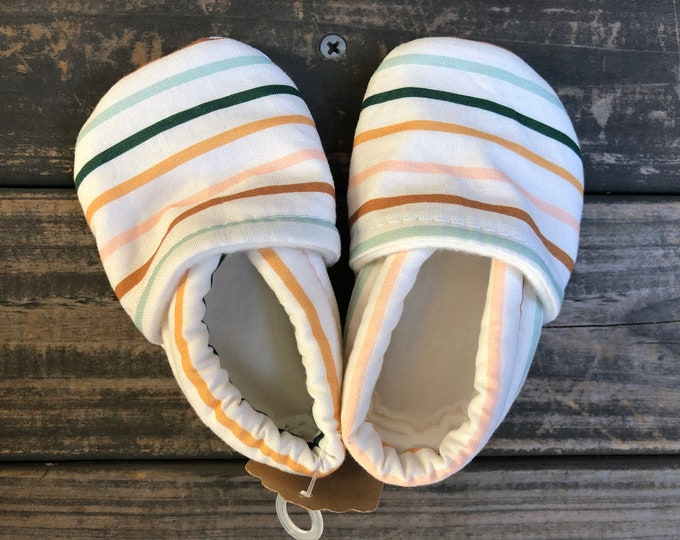 Colorful Stripes Baby Shoes | Toddler Shoes