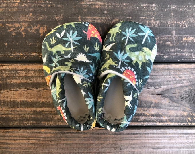 Dinosaurs Baby Shoes   Toddler Shoes