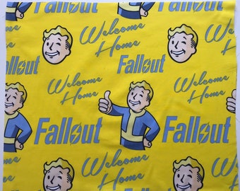 Welcome Home | Fallout | Face Mask | Face Cover | Vintage