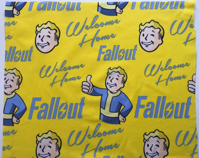 Now Available | Welcome Home | Fallout | Face Mask | Face Cover | Vintage