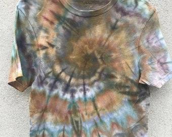 Earthy tie dye