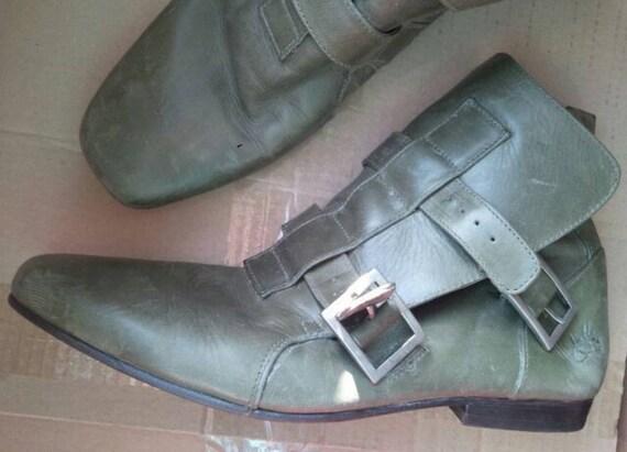 John Fluevog unisex ankle boots, Vintage John Flue
