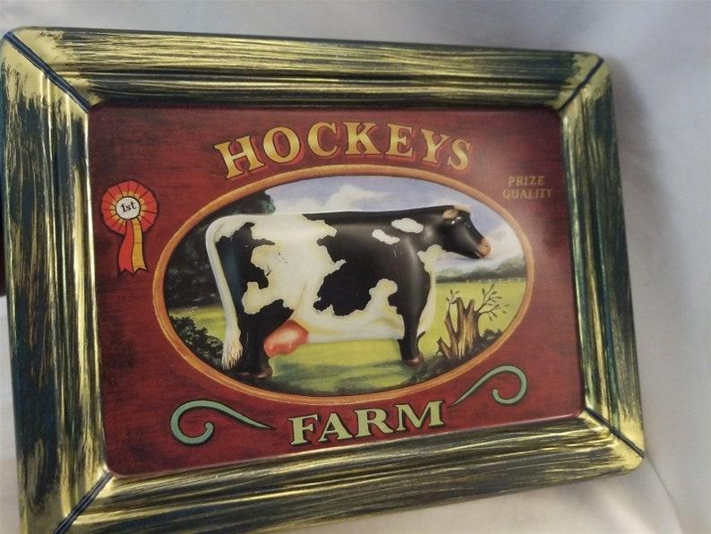 Hockey/'s Farm Collectible Tin
