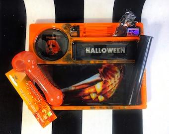 Halloween tray set
