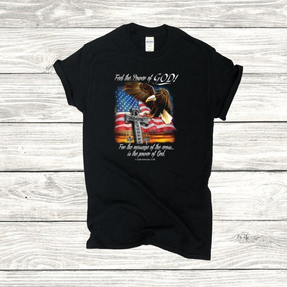 God transfers Graphic Tee Heat Transfer Inspirational Transfers Full color DYI shirt Let God give you a Hand-Ready to Press