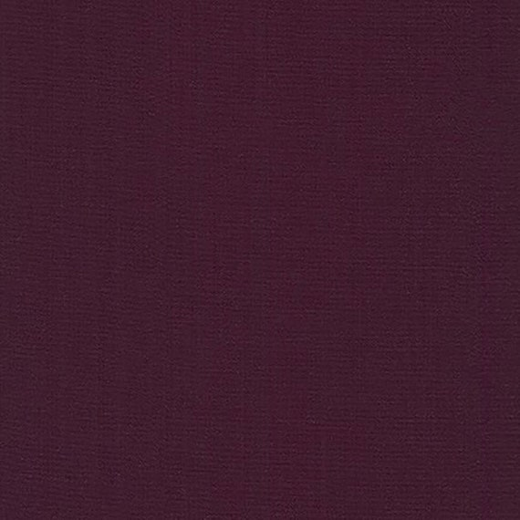 In Stock and Ships Today by Robert Kaufman Raisin K001-1469 Sold by the Yard and Cut Continuous Kona Cotton