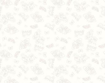 Hush, Hush Flutter / Citrus & Mint Designs / Riley Blake Designs / Quilting Cotton / Low Volume