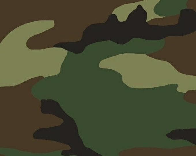Woodland Green Camo Cotton Fabric By Whistler Studios/Windham Fabrics 36383-2