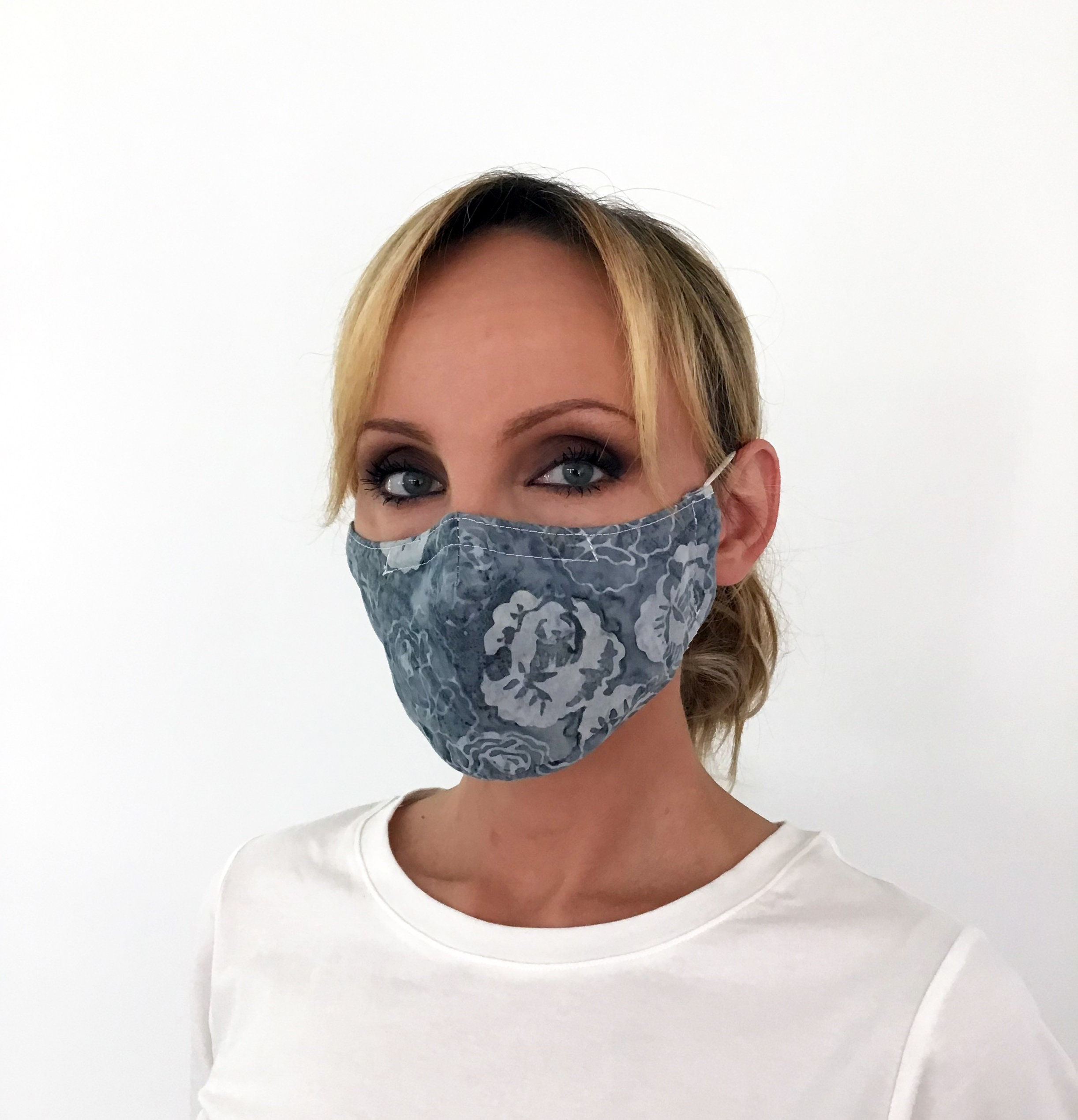 Blue Face Mask 3-Pack   Todays Fashion Item
