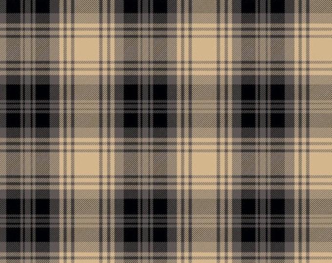 Dad Plaids, Emanuel Black Plaid, Cotton Woven, 51871-12, Whistler Studios/Windham Fabrics