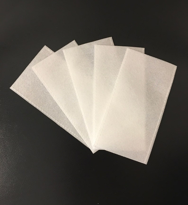 Face Mask Filter  Filter Insert  Set of 5  Non Woven Double image 0