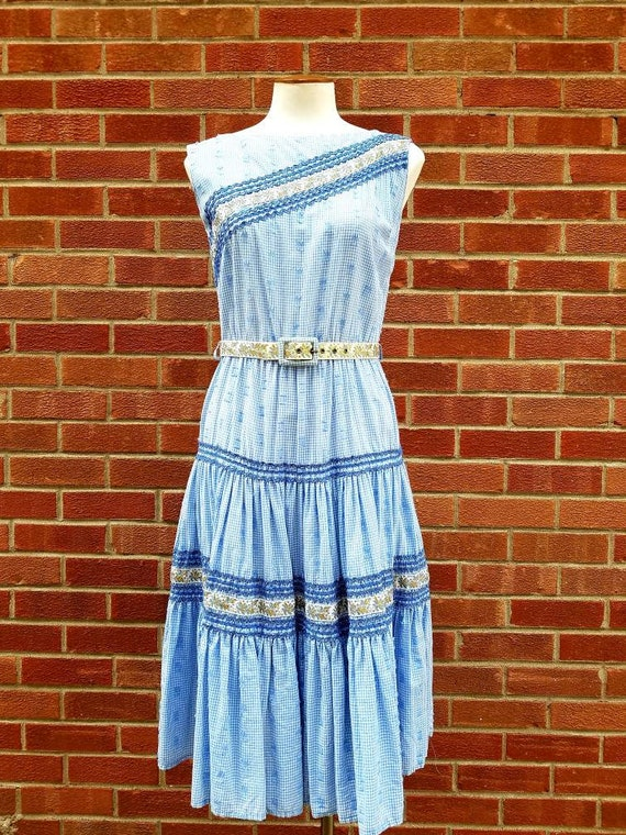 Cotton Western Patio dress