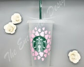 Starbucks Cold Cup Sweetheart Hearts, SVG, Instant Download