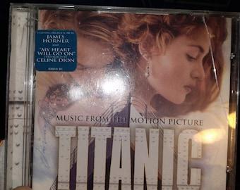Titanic Soundtrack CD Used Free Shipping