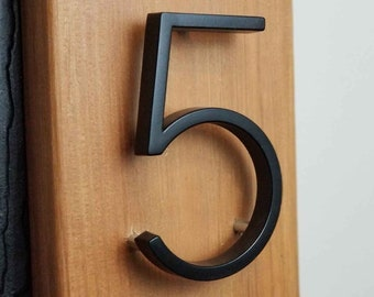 Door SCREW on House Stainless Steel House Numbers No 348 Building 10cm