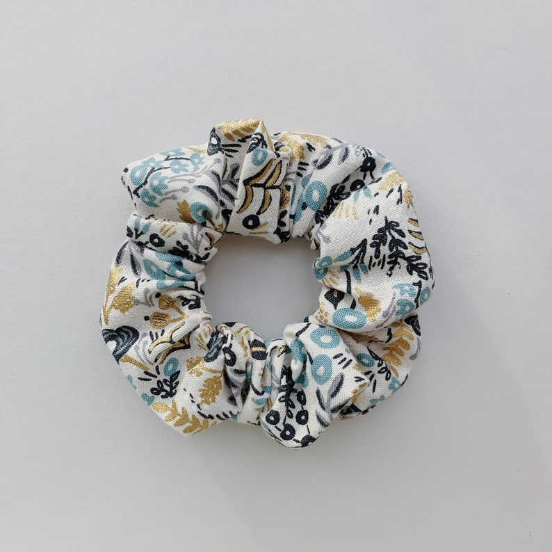 Floral Scrunchie Handmade Rifle Paper Co