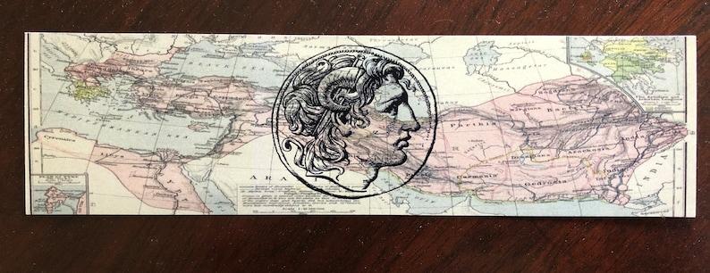 Hellenistic Age Podcast Bookmark  Cover Art Design image 0
