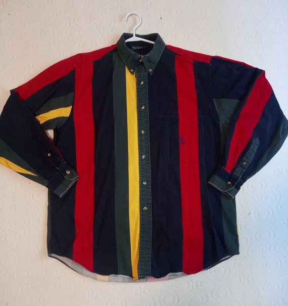 Vintage Nautica button down .late 90's - early 00'
