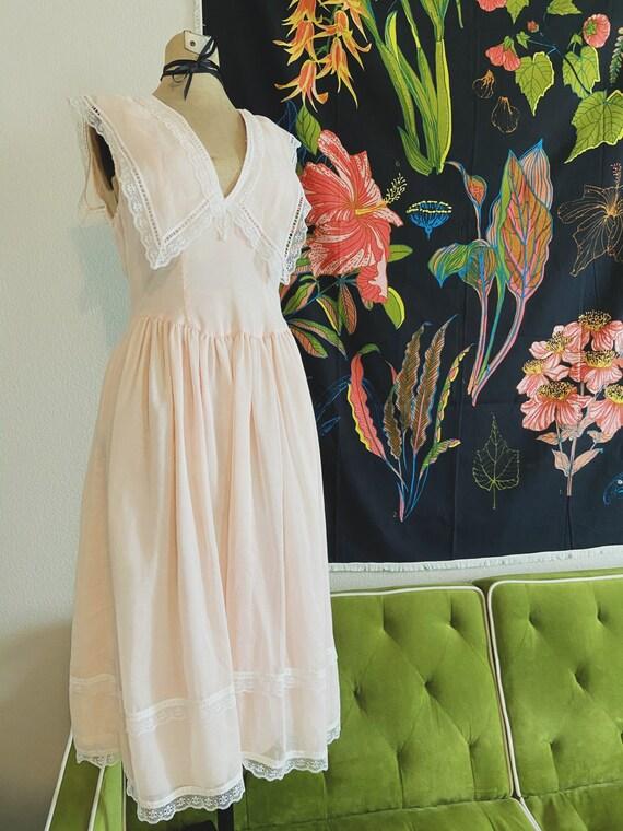 VINTAGE Gunne Sax Dress / Vintage Dress / 80s Fash