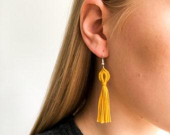 Crochet Dangly Earrings