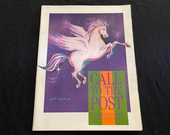 Featuring Derby Festivities 1992 Call to the Post KENTUCKY DERBY Business First Supplement Magazine Great graphic advertising!