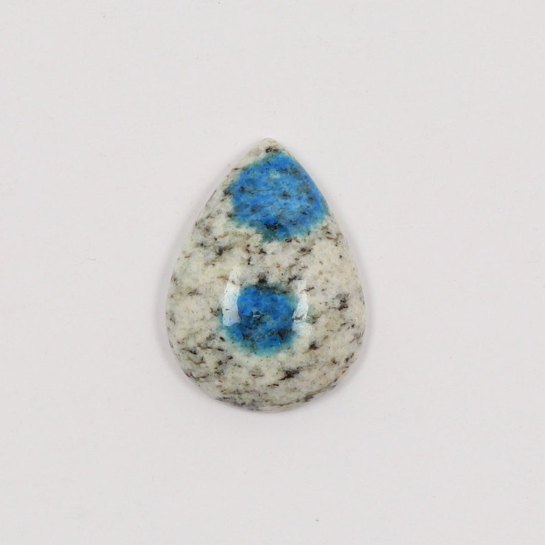 AAA quality Jasper|Oval Cabochon|Raindrop Azurite|Gemstone K2 Jasper Cabochon 26X18X6mm Polished Cabochons Genuine K2 Jasper Natural K2