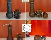 Turkish Pepper Salt Grinder Coffee Spice Grinder Salt, Spice, Pepper