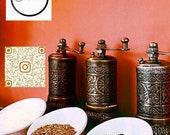 Turkish Pepper Salt Grinder Spice Grinder Mill 4.3 inch